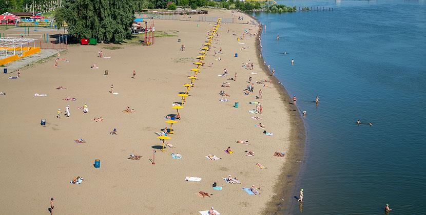 В Новосибирской области в ближайшее время откроются пляжи