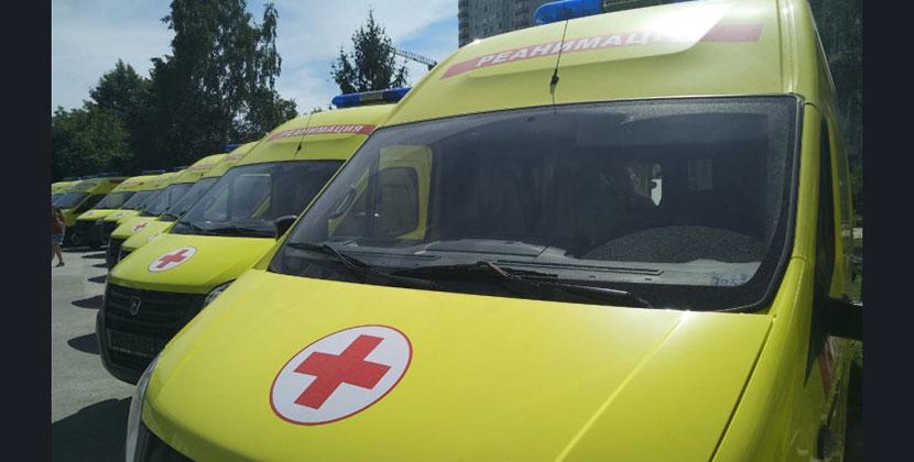 Новосибирская область получила новые машины скорой помощи
