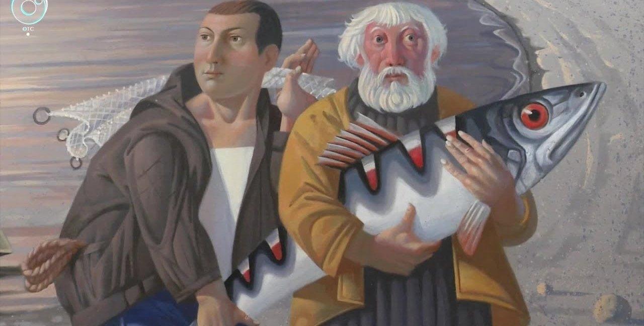Искусство можно потрогать и понюхать — в Новосибирске открывается выставка «Чувство живописи»