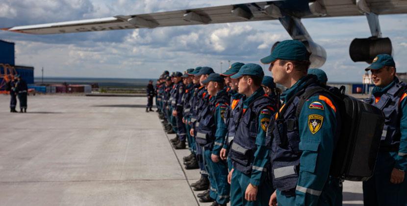 Новосибирские спасатели вернулись после месяца работ по ликвидации аварии в Норильске