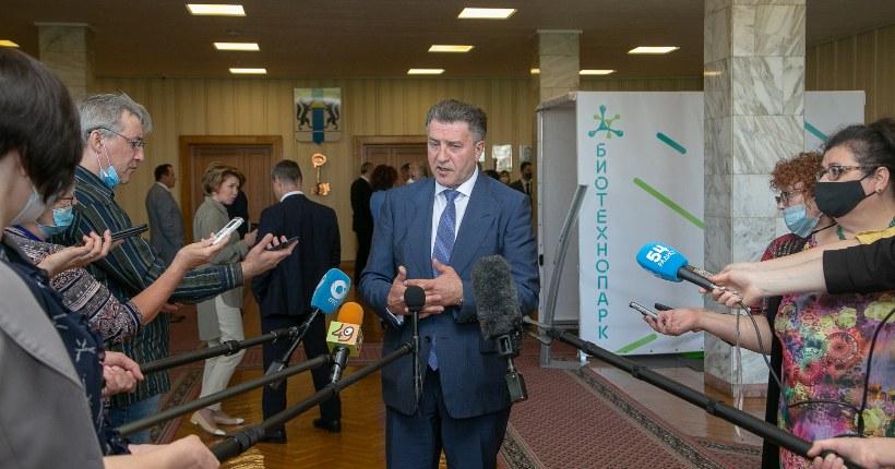 Андрей Шимкив поблагодарил новосибирцев, принявших участие в Общероссийском голосовании