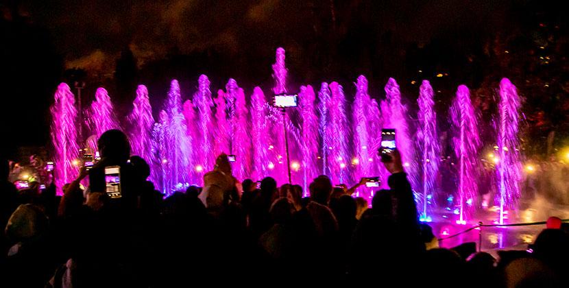 В центральном парке 3 июля музыкальный фонтан споёт песни Победы