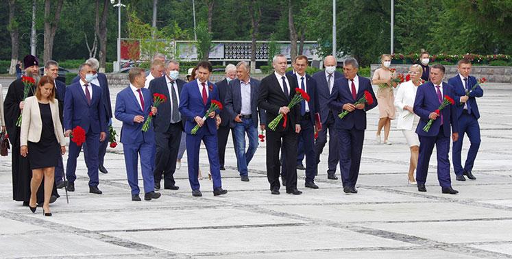 Председатель Законодательного собрания поблагодарил президента страны от имени всех новосибирцев