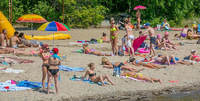 В Новосибирске официально открыты всего два пляжа