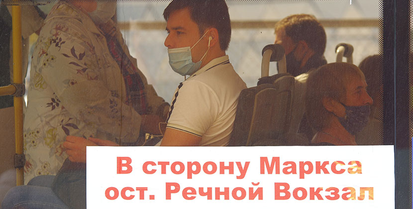 Автотранспортные предприятия Новосибирской области штрафуют за нарушение масочного режима