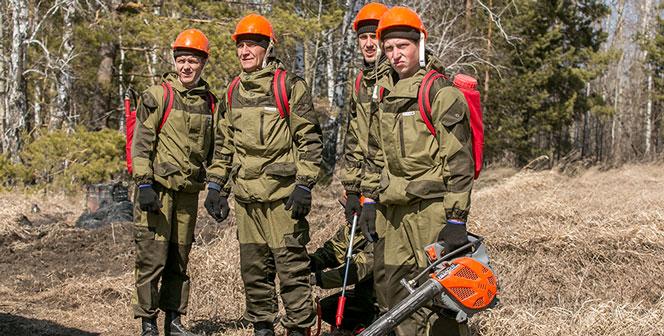 Причиной лесных пожаров в Новосибирской области является человеческий фактор