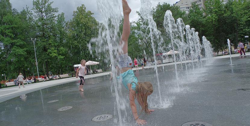 В августе в Центральном парке Новосибирска откроется современная детская площадка