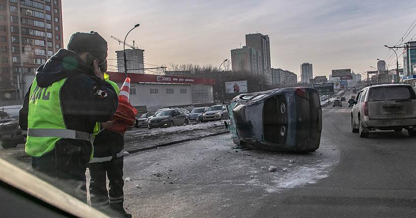 Ограничения по коронавирусу особо не повлияли на динамику ДТП в Новосибирске