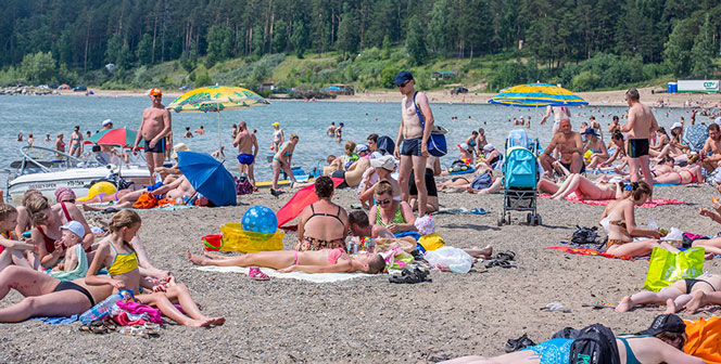В Новосибирске официально открыты для отдыха пять пляжей