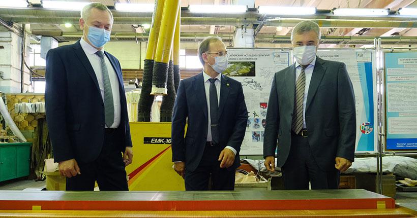 В Новосибирскую область с рабочим визитом прибыл министр науки и высшего образования РФ Валерий Фальков