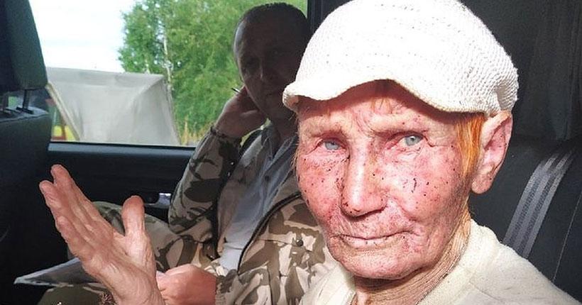 Под Новосибирском нашли бабушку, которая ушла в свой лесной шалаш и пропала