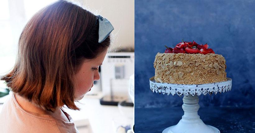 Наполеоновские планы: школьница из Новосибирска зарабатывает, продавая свои торты