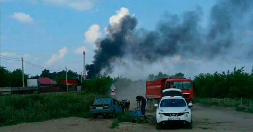 В Новосибирске жители страдают от утилизации старых железнодорожных вагонов