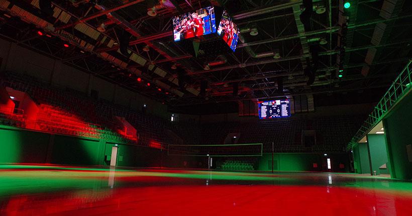 Региональный центр волейбола в Новосибирской области готов на 90 процентов