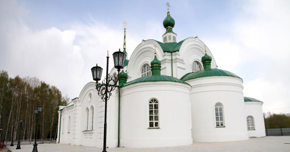 В старинном городке под Новосибирском завершается восстановление храма XIX века