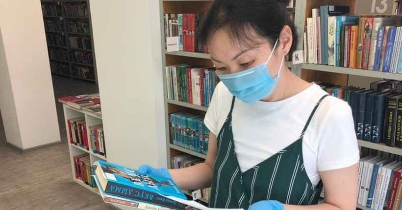 За июль выдано более тысячи книг — библиотеки региона работают с читателями бесконтактно