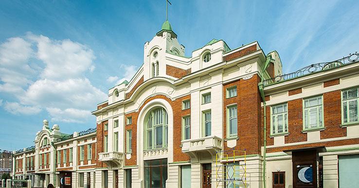 Владимир Путин поздравил Новосибирский краеведческий музей со столетием