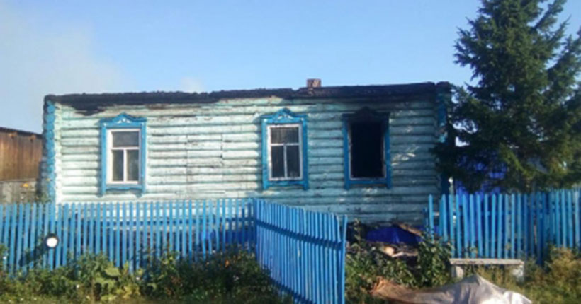 Стали известны подробности гибели при пожаре двух пенсионеров в Новосибирской области