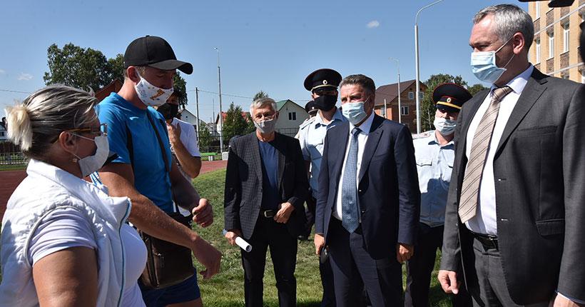 Губернатор Новосибирской области развеял слухи о начале строительства мусорного полигона под Бердском
