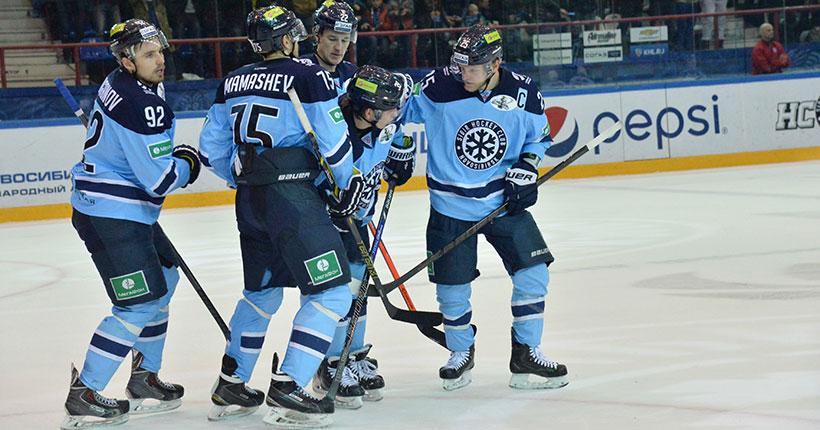 Стала известна дата первого домашнего матча хоккейной «Сибири» в Новосибирске