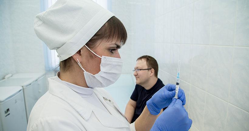 Жителей Новосибирской области попросили проявить сознательность и привиться от гриппа