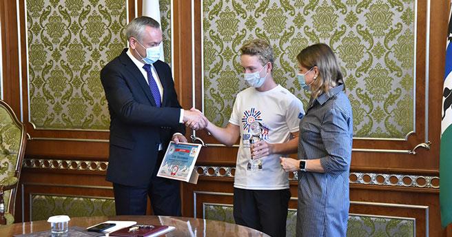 В Новосибирске наградили абсолютного победителя «Кубка Анны Богалий — Skimir»