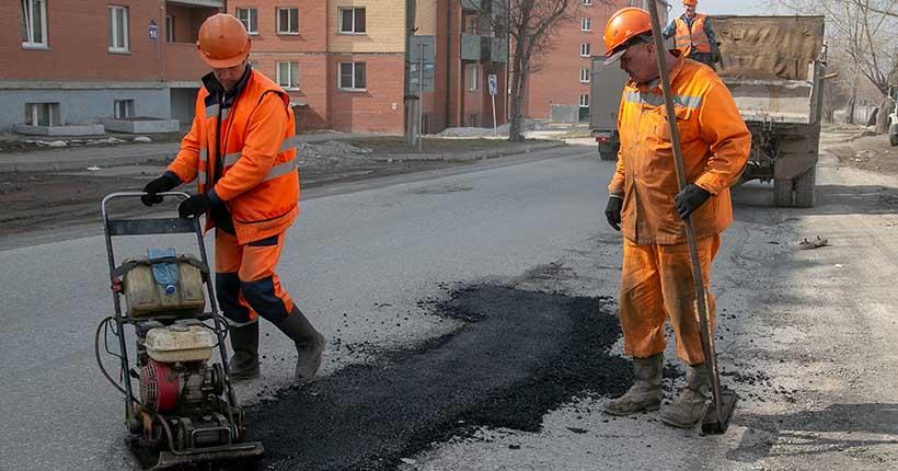 43 километра автодорог отремонтируют в этом году в Новосибирске