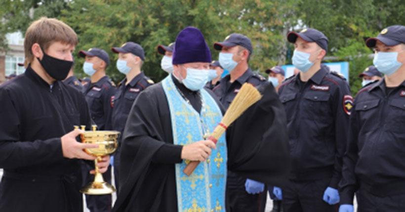 Новосибирские полицейские отправились на Северный Кавказ