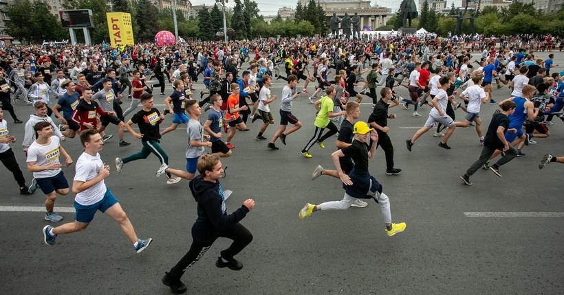 Полумарафон памяти Раевича пройдет в Новосибирске в ограниченном формате
