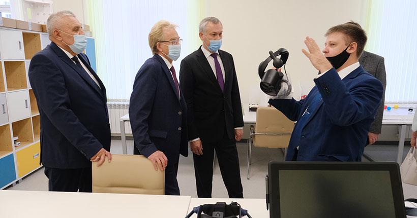 В Кольцово Новосибирской области 1 сентября области открыли «Лицей Технополис»