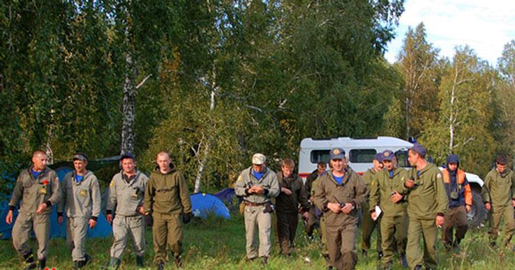 В Новосибирской области нашли грибника, которому стало плохо в лесу