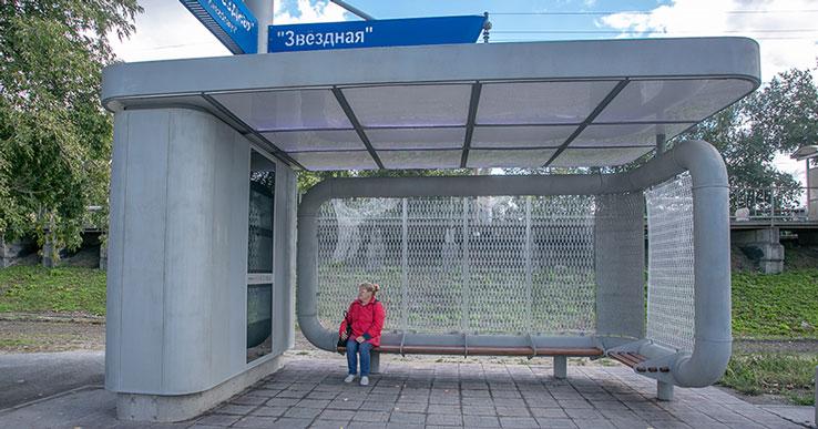 Сеть «умных остановок» появится в Новосибирске к 2022 году