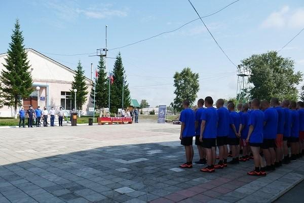 В Новосибирской области состоялось торжественное закрытие XI Всероссийской спартакиады среди несовершеннолетних осуждённых