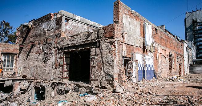 Новосибирцы шокированы тем, что осталось от кинотеатра «Пионер»