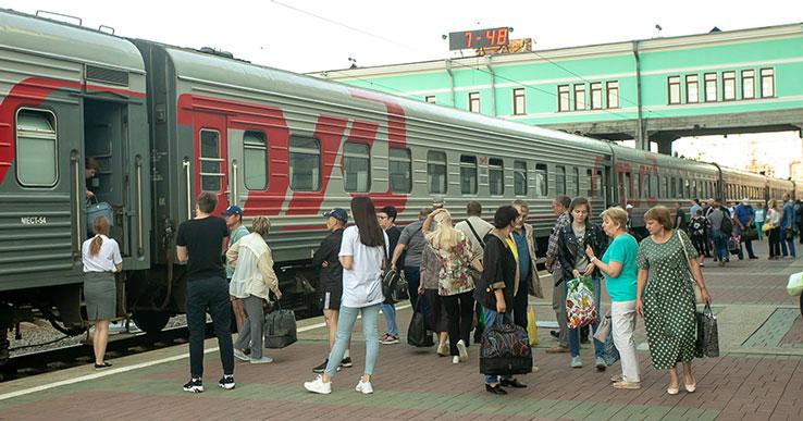 Новосибирский пассажир устроил дебош в поезде «Москва-Чита»
