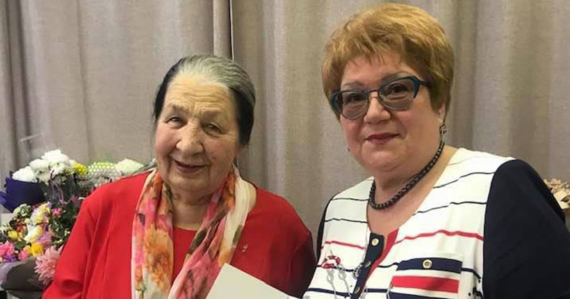 Знаменитая сказительница из Новосибирска Таисья Пьянкова отметила юбилей