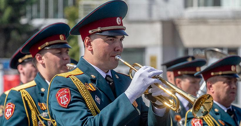 Оркестр штаба Сибирского округа войск национальной гвардии РФ из Новосибирска выступит на Сахалине
