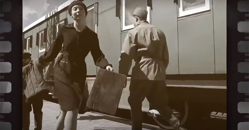 Новосибирцы увидят уникальный фильм о родном городе, ставшем центром эвакуации