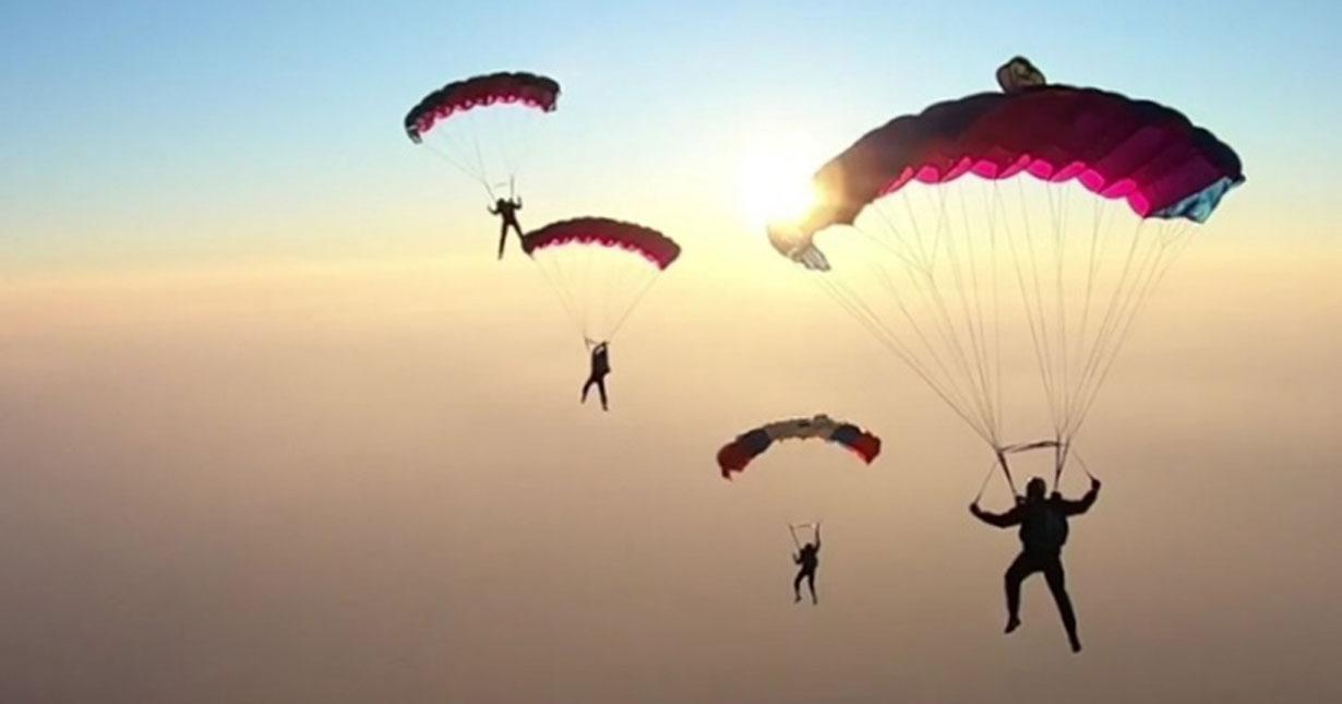 Новосибирские парашютисты привезли серебро с чемпионата России