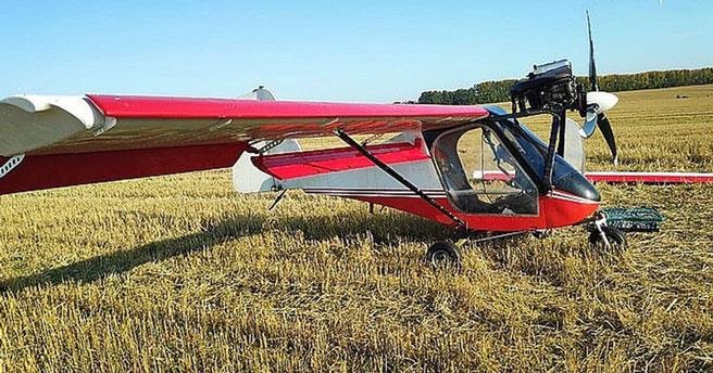 В Новосибирской области аварийно приземлился летательный аппарат
