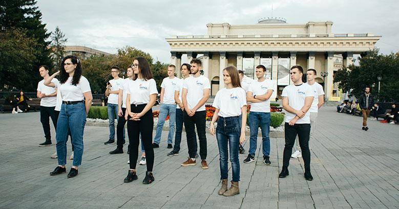 Парад российского студенчества прошёл в Новосибирской области