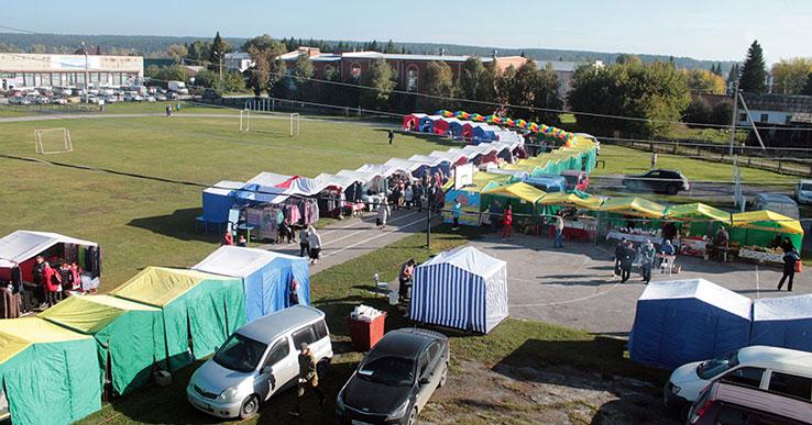 В Новосибирскую область пришёл сезон зональных ярмарок