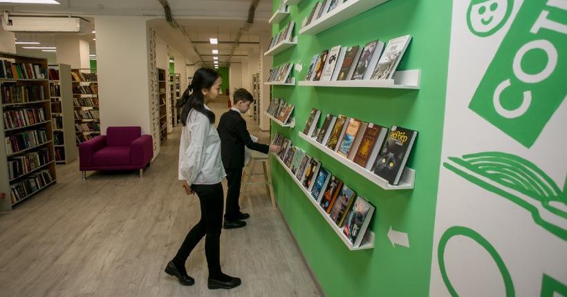 Новосибирская областная научная библиотека открыла двери для читателей