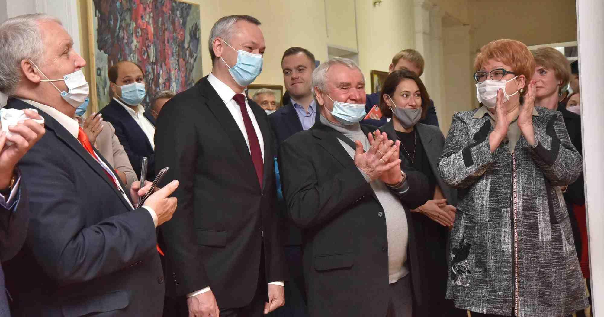 В Новосибирск съехались художники со всей страны