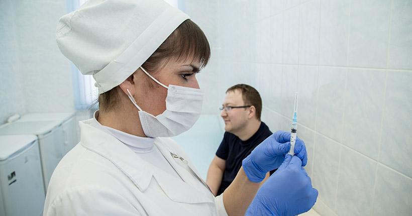 Новосибирский губернатор поручил привить всех чиновников от гриппа