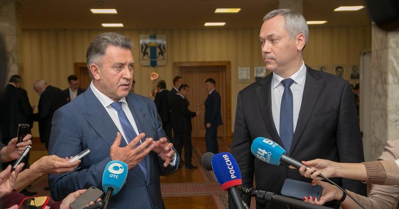 Руководители Новосибирской области объяснили причины ротации председателей комитетов заксобрания