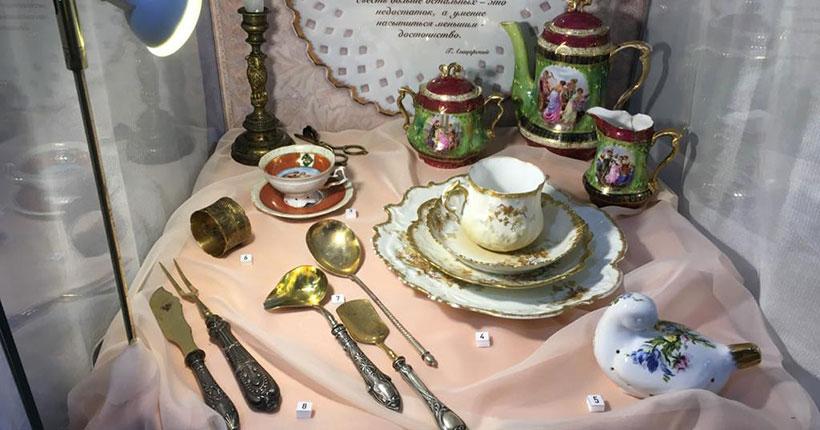 Выставка исторической посуды с дегустацией полдюжины закусок пройдёт в Новосибирске