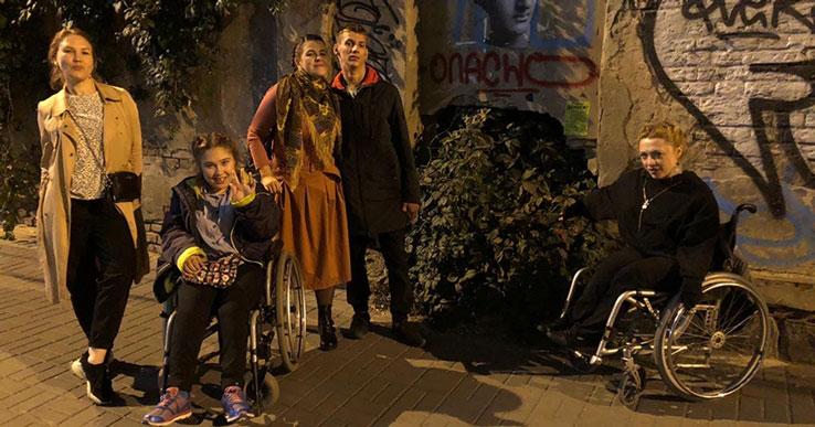 Новосибирский «Инклюзион» представил спектакль на международном Платоновском фестивале искусств
