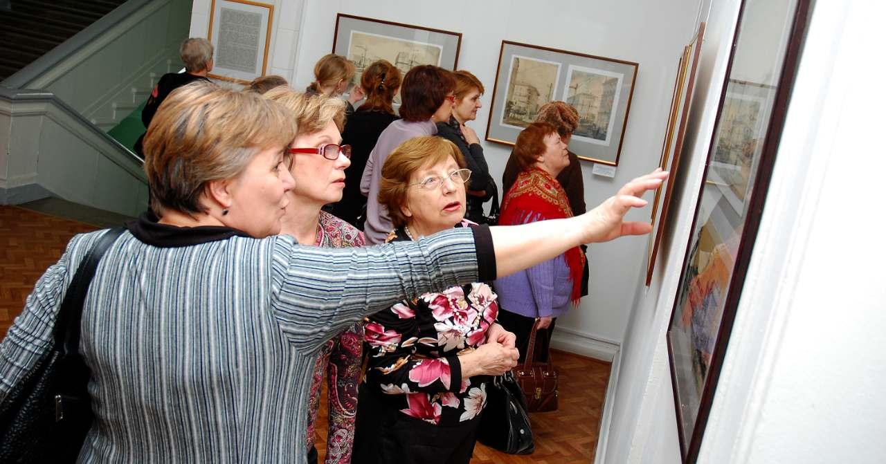 Старшее поколение приглашают на Декаду пожилых людей в Новосибирский художественный музей бесплатно