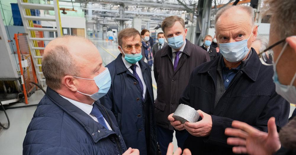 В Новосибирске с рабочим визитом находится Секретарь Совета безопасности
